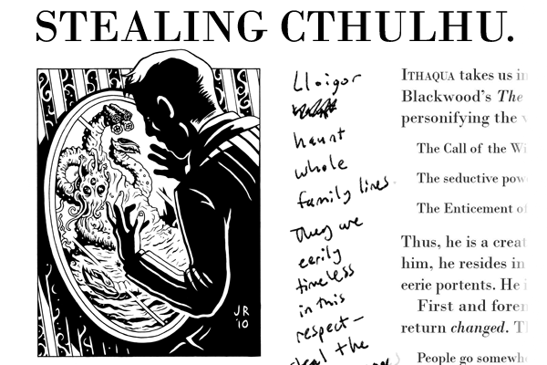 Stealing Cthulhu preview