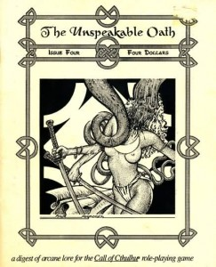 The Unspeakable Oath 4