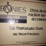 Silver Ennie Award 2013