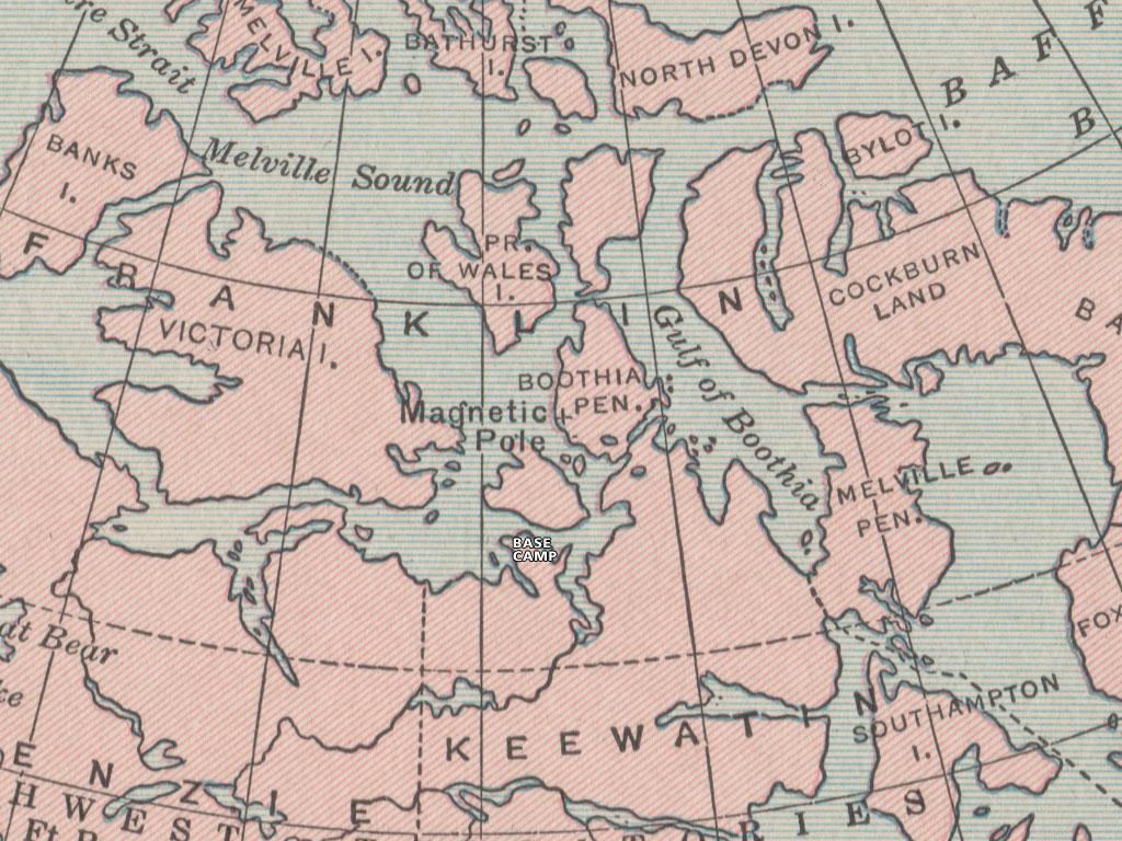 Dead of Winter Atlas Map