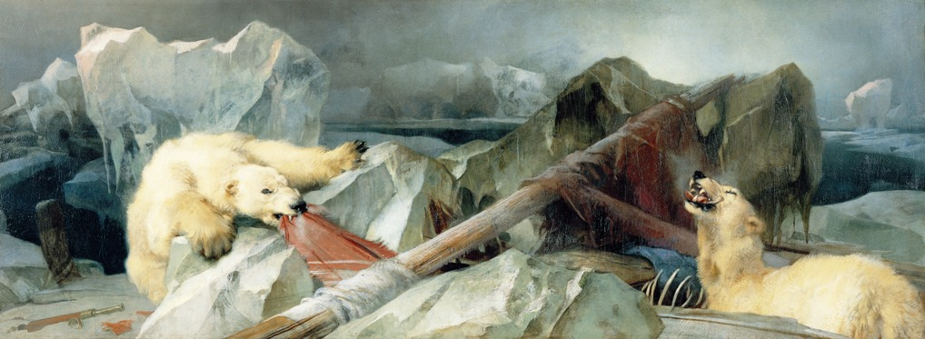 """""""Man Proposes, God Disposes,"""" Edwin Henry Landseer's interpretation of the fate of the Franklin Expedition.."""