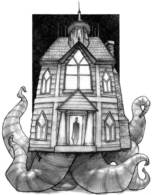 The Smedley House by Matt Hansen