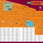 GenCon 2016 Exhibit Hall Map