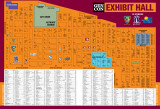 GenCon 2016 Exhibit Hall Map
